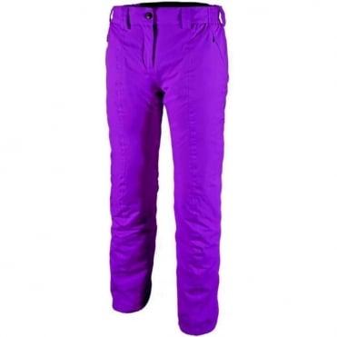Wmns Palm Twill Ski Pant - Purple