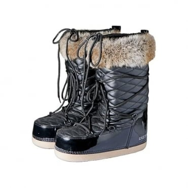Kids Apres Moonboots - Black