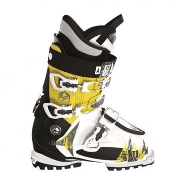 Atomic Ski Boot Waymaker Tour 90 White/Yellow (2014)