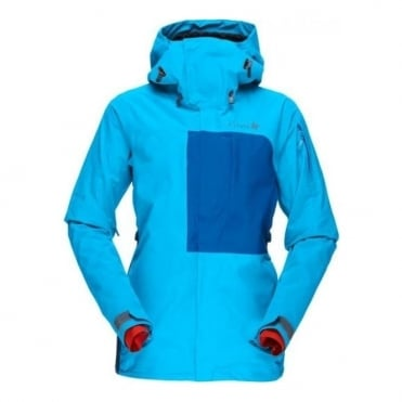 Wmns Narvik Gore-Tex Insulated Jacket - Blue