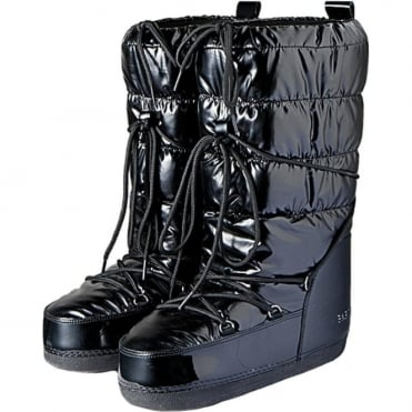Wmns Glossy Snow boots - Black