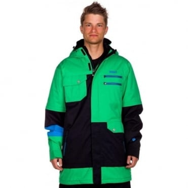 Mens Xavier Pro Jacket - Green/Black