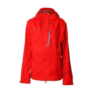 Wmns Niva DRYtech 3L Jacket - Poppy Red