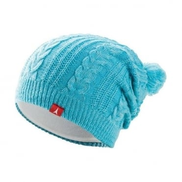 Wmns Slouch Beanie - Turquoise