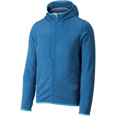 Mens Ridgeline Microfleece Hood - Blue