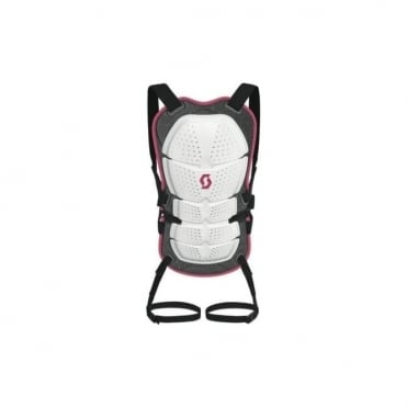 Wmns X-Active Back Protector - Black/Pink