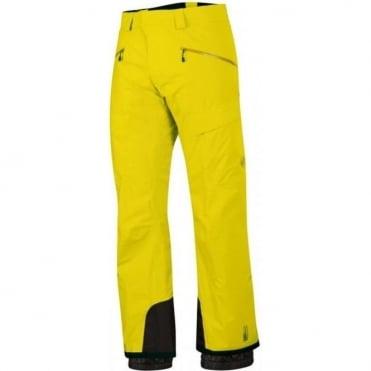 Mens Stoney Pant - Salamander Yellow