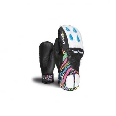 Junior Axel CF Race Mittens - Rainbow