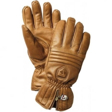 Alpine Leather Swisswool Classic Glove - Cork Brown