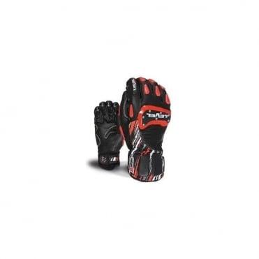 Level Glove SQ CF Black/Red