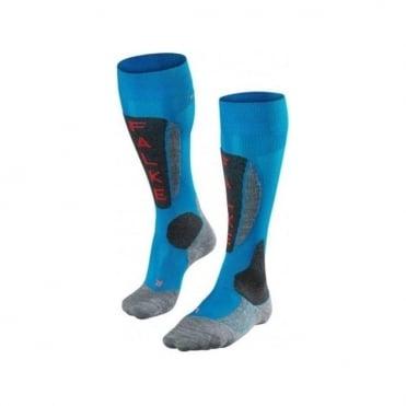 Wmns SK5 Austria Race Ski Socks - Blue
