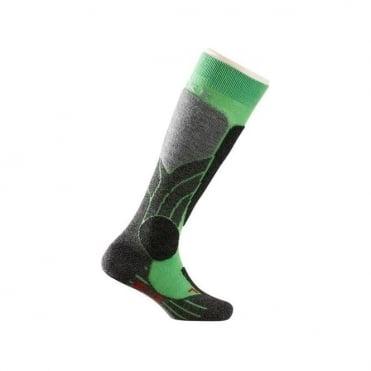 Kids SK1 Ski Socks - Green