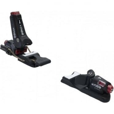 Carbon Binding 3-12 64-90mm - Black/Red