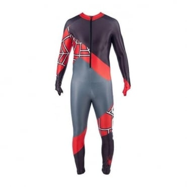 Adult Unpadded Race Catsuit Performance DH - Black/Red