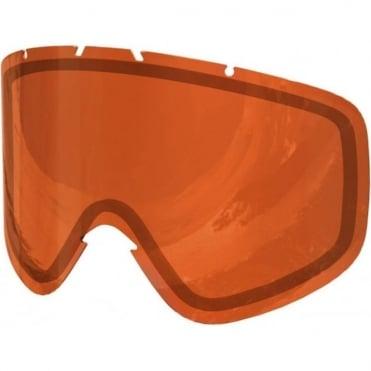 Iris Double Lens (Small) - Sonar Orange