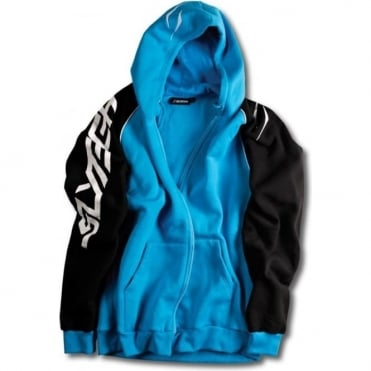 Unisex Logo Hoody - Blue/Black