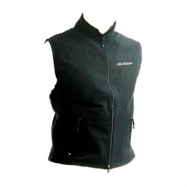 2nd Skin Fleece Vest - Black