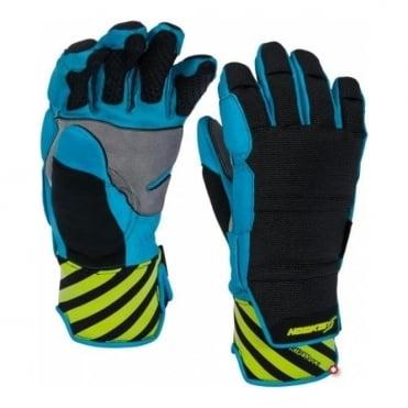 Fortress Race Fingers - Black/Blue