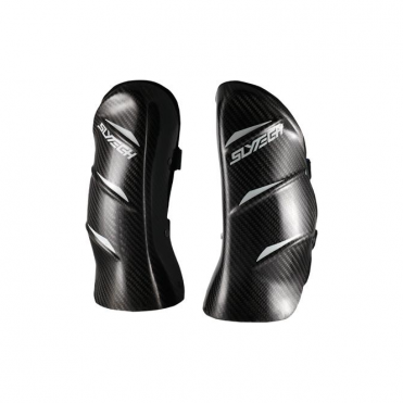 Slytech Nervous Evo Pro Carbon Shinguard - Black