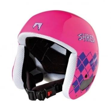 Brain Bucket Helmet Nastify Pink (Non FIS)