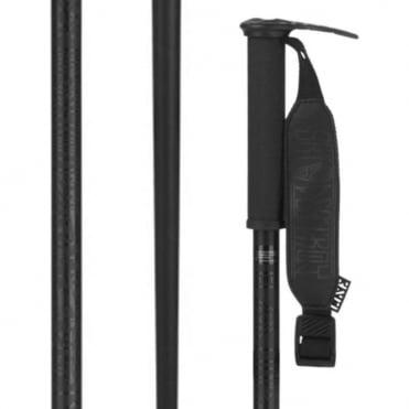 Pin Ski Poles - Black