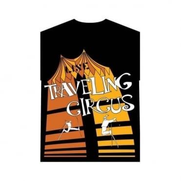 Travelling Circus T-Shirt - Black
