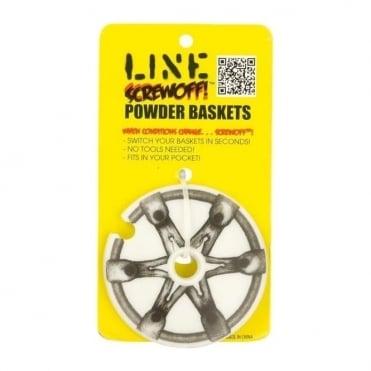 Screwoff Powder Baskets 90mm