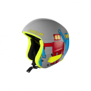 Brain Bucket Helmet Robot Boogie 2015 (Non FIS)