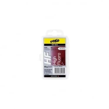 High Fluoro Tribloc Hot Wax (Red) -4C/-12C 40g