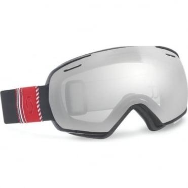 Linx Goggles - Ribbon Black/Silver Chrome Lens + Illuminator Bonus Lens
