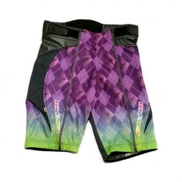 Adult Training Over Shorts Joker - Purple/Green