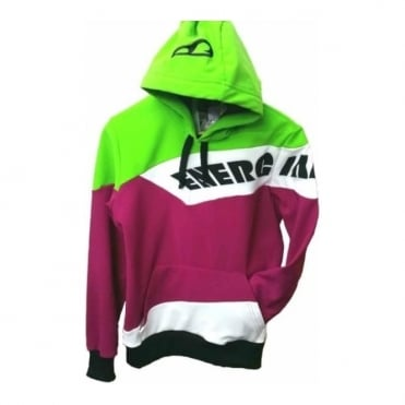 Adult New Workout Hoody - Plum/Lime/ White