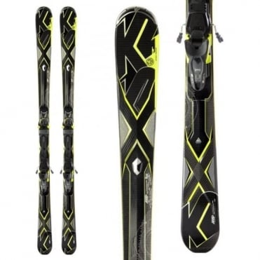 K2 A.M.P Charger Skis + MX12 Binding - 179cm (2013)