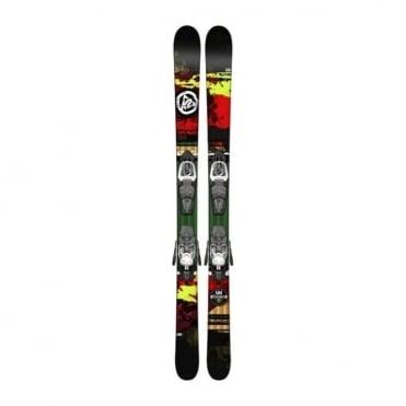 K2 Shreditor 85 Jr Skis + Fastrack 7 - 149cm Junior (2015)