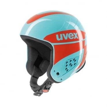 Helmet Wing Jump Race - Blue/Orange (Non FIS)