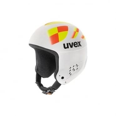 Helmet Wing Jump Race - White/Neon (Non FIS)