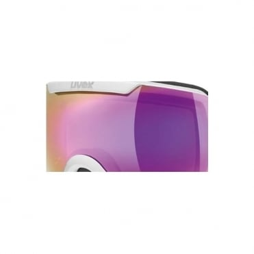 Downhill 2000 ESS Goggle Lens - Litemirror Pink Cat. S2