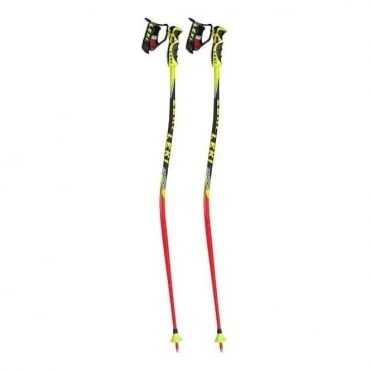 Junior Race Poles WC Lite GS - Red/Black