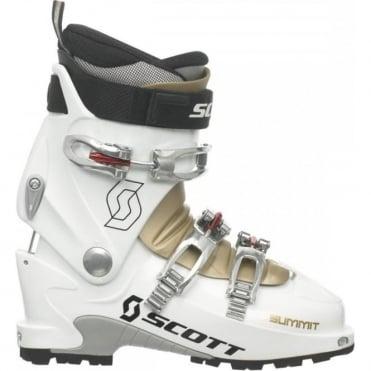 Scott Summit Womens Touring Boots - White/Gold (2014)