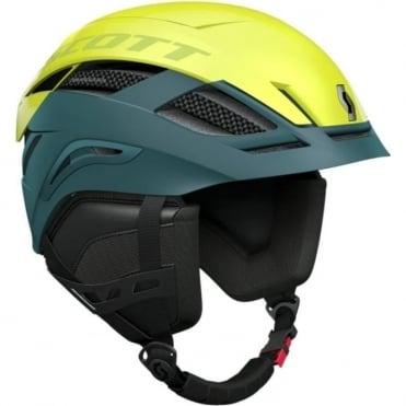 Couloir Helmet - Blue/Yellow
