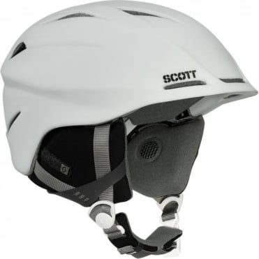 Tracker Helmet - White Matt