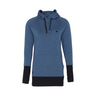 Wmns Feather Hoodie - Dusk Blue