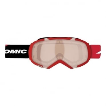 Atomic Revel S Goggles Red Amber/Uni Red