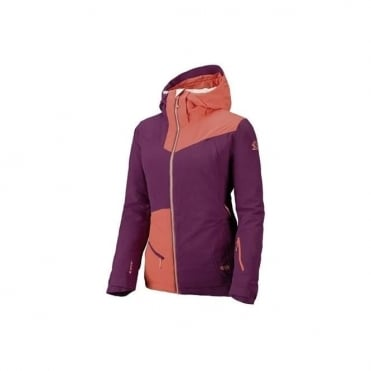 Wmns Ridgeline Flex Tech Jacket - Coral/Purple