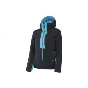 Wmns Treeline 2L Light Tech Jacket - Black/Navy