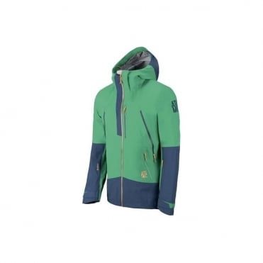 Mens Ridgeline Tech Jacket 3l - Emerald Green