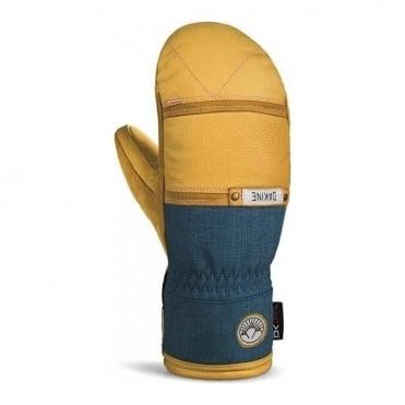 Wmns Team Fleetwood Annie Boulanger Mitten - Yellow/Blue