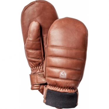 Alpine Leather Primaloft Mitten - Brown