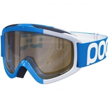 Iris Comp Goggles (Medium) Terbium Blue Frame with Clear and Smokey Yellow Lenses