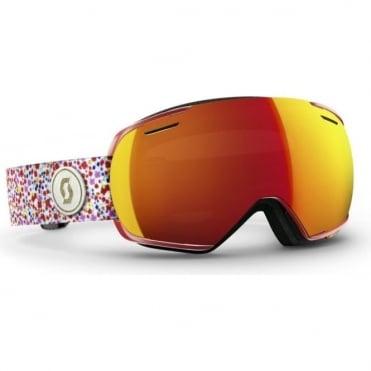 Linx Goggles - Liberty Red/Red Chrome Lens + Light Amplifier Bonus Lens
